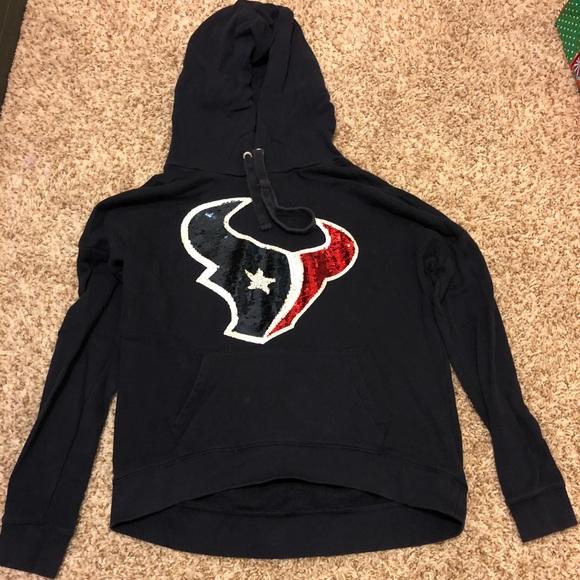c922ba14 Houston Texans PINK Hoodie